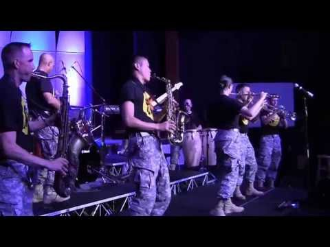 "Performing with Student Band at the Army School of Music ""Friends and Strangers"""