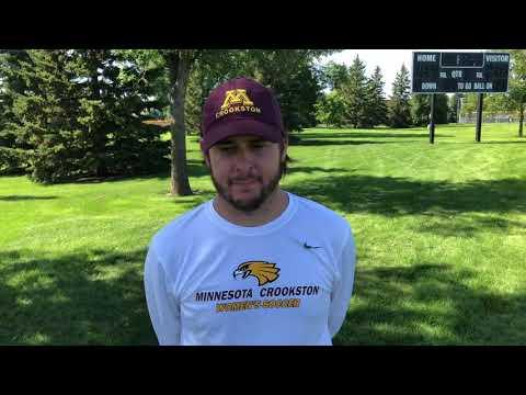 Kyle Halfpop Post Game Interview vs. Michigan Tech
