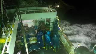 Kapal Long Line Di Terjang Badai..