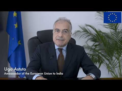 New EU Ambassador to India, Mr. Ugo Astuto