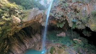 Chipitin Waterfall Cinematic FPV Drone Flight
