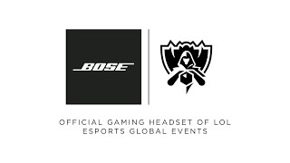 Bose Partners with LoL Esports Global Events