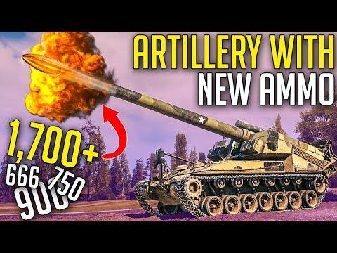 Artillery with New Ammo HITS HARD! ► World of Tanks SandBox Test Server