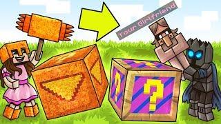 Minecraft: MEMES VS DORITOS LUCKY BLOCK CHALLENGE!   Modded Mini Game
