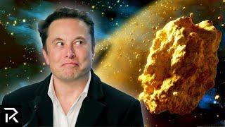 Elon Musk Is Mining A Golden Asteroid Worth $700 Quintillion