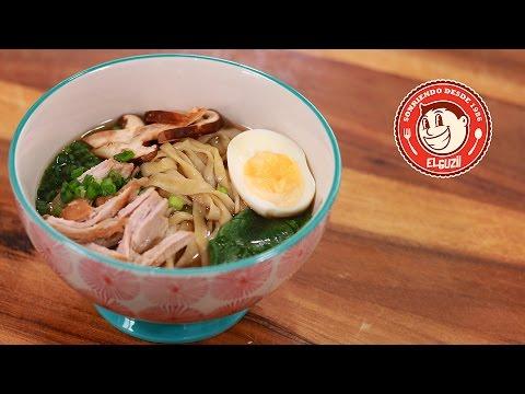 Prepara Una Sopa De Fideos Casera Al Estilo Japonés