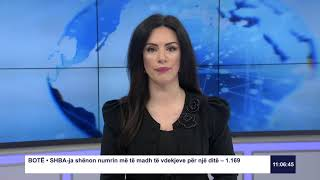 RTK3 Lajmet e orës 11:00 03.04.2020