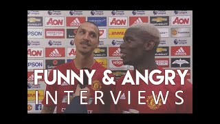 Funniest & Angriest Interviews In Football History | Part 1