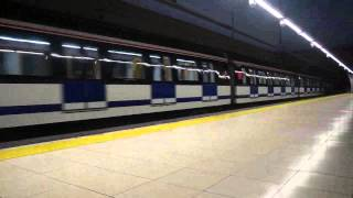 preview picture of video 'Metro de Madrid Linea 11 San Francisco 2013 Madrid'