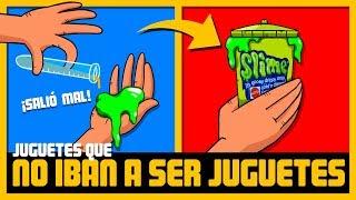 10 JUGUETES FAMOSOS QUE NO IBAN A SER JUGUETES