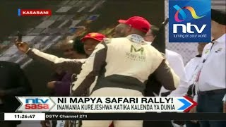 Kenya in dress rehearsal for WRC entry - VIDEO