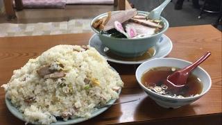 大食い→光栄軒で炒飯5合叉焼麺3玉食べた。