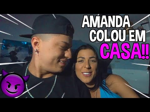 ELA COLOU EM CASA & ANIVERSÁRIO DO MC BRUNINHO!!