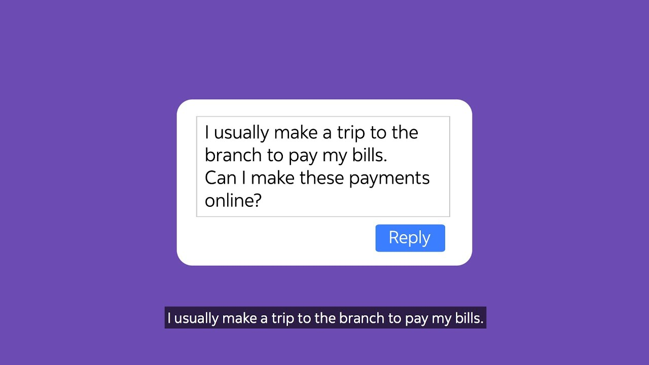 How to pay bills