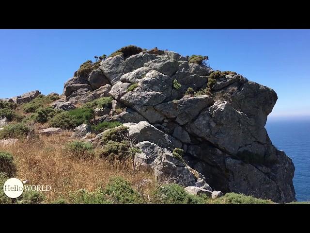 Weg in der Nähe des Cabo de la Nave