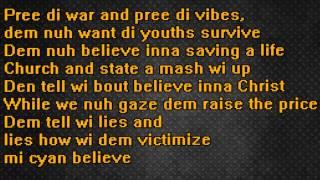 VYBZ KARTEL  NOT A LOVE SONG Lyrics