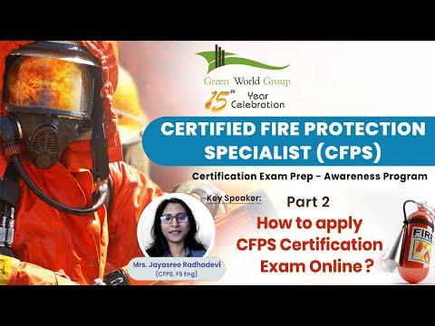 Part 2   How to Apply CFPS Certification Exam Online?   Green ...