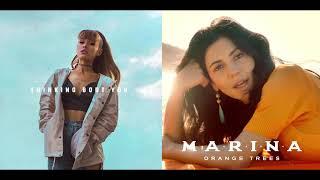 Thinking Bout Orange Trees - MARINA & Ariana Grande (Mashup)
