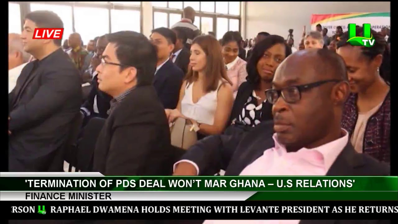 'Termination Of PDS Offer Will Not Mar Ghana– United States Relation' -Financing Minister