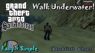 How To Walk Underwater In GTA San Andreas (No Mods & No Cheats)