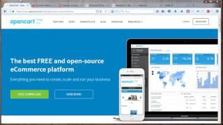 Урок 1. Что такое OpenCart