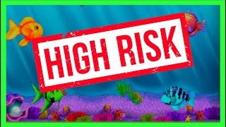 RISKIEST GOLDFISH BET @ $15SPIN I've EVER GOTTEN! MASSIVE Slot Machine BONUS WINNING WSDGuy1234