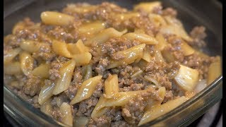 Beef-a-Roni For Dinner - WARNING This Will Make You Hungry!!!