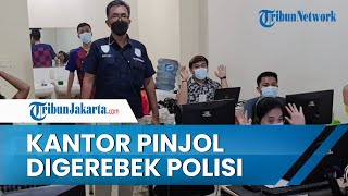 Polres Metro Jakarta Pusat Gerebek Kantor Pinjol di Cengkareng, Polisi Beberkan Peran 56 Karyawan