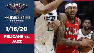 Pelicans vs Jazz Calls of the Game - 1/17/20 | New Orleans Pelicans
