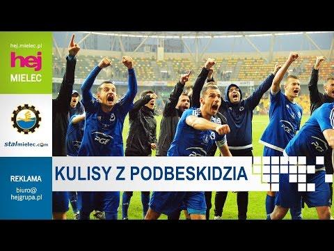 WIDEO: Podbeskidzie Bielsko-Biała - Stal Mielec 0-1 [KULISY MECZU]