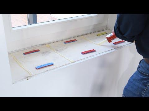 Fensterbank Montage - Schritt für Schritt Anleitung