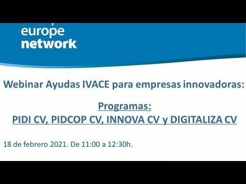 Webinar Ayudas IVACE 2021 para empresas innovadoras[;;;][;;;]