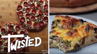 8 Cheesy Pizza Twists