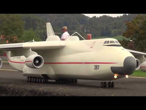 Incredible RC Plane with Space Shuttle