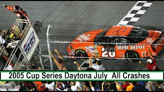 All NASCAR Crashes From The 2005 Pepsi 400