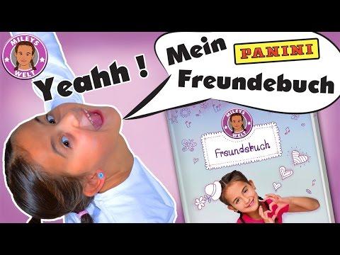 ERSTES YOUTUBER FREUNDEBUCH von Panini - die Sensation !!! *Werbevideo | MILEYS WELT