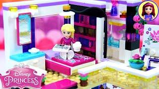 Rapunzels Bedroom - Modern Day Princess Apartment Custom Lego Build Part 2