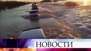 Разрушительное наводнение насевере Казахстана. Большая вода угрожает столице.