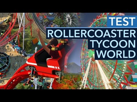 Rollercoaster Tycoon World - Test / Review: Zombieparade im Diaprojektor (Gameplay)