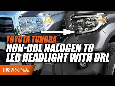 Adding LED DRL To Your Non-DRL Toyota Tundra Headlight Mp3
