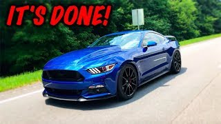 Rebuilding A Wrecked 2017 Mustang GT Part 16