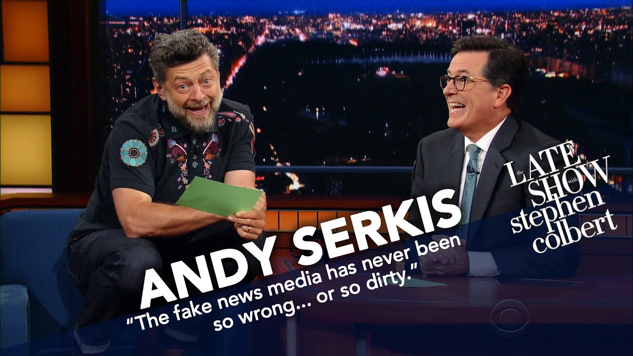 Andy Serkis Becomes Gollum To Read Trump's Tweets thumbnail