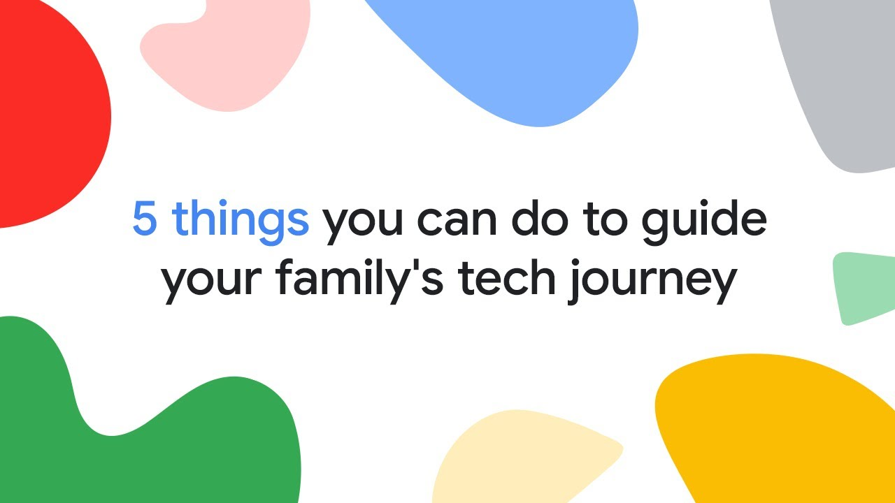 Make tech work for the whole family