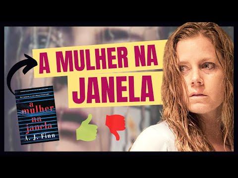 A MULHER NA JANELA É BOM? | Filme de suspense com a Amy Adams