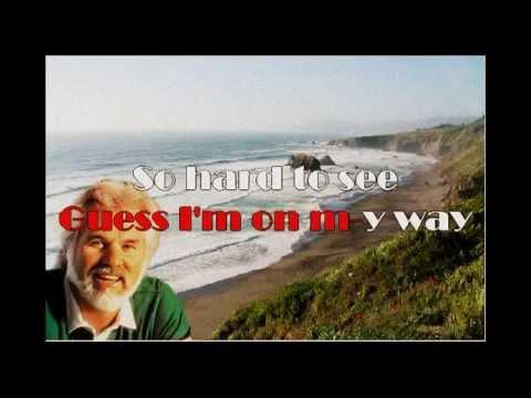 Stuck on you - Kenny Rogers - Instrumental karaoke