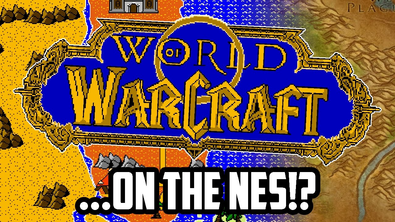 If World Of Warcraft Was On The NES