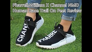 5aacafe12 Pharrell x Chanel x Adidas Human Race NMD on Feet Review