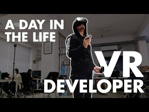 Work Day In The Life | VR Game Developer