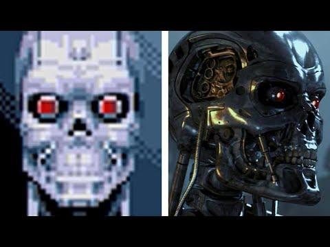 Terminator [Games] Evolution: (1991-2015)