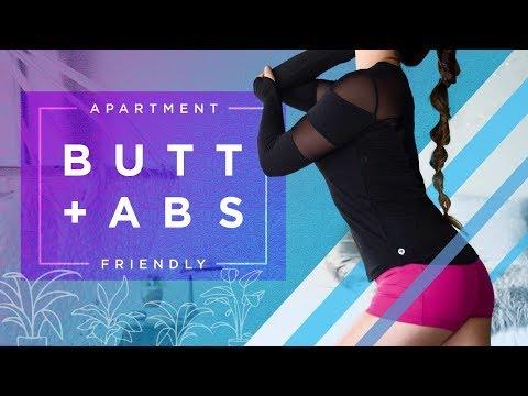 캐시언니의 아파트내 운동 시리즈 - 엉덩이 및 복부 운동